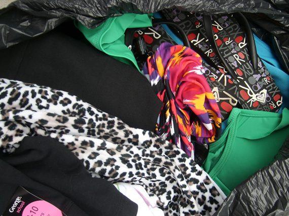 Zdjęcia towaru - odzież niesortowana
